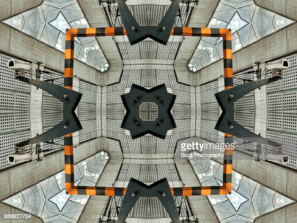 Impossible architectures: digital manipulation of surveillance camera  in the Charles De Gaulle Airport in Paris, France