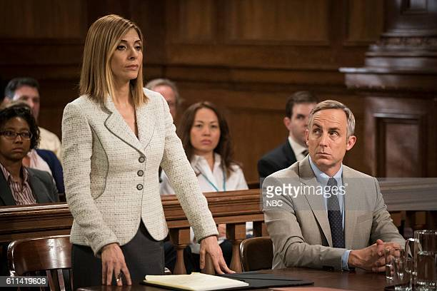 UNIT 'Imposter' Episode 1803 Pictured Callie Thorne as Counselor Katherine Drexler Wallace Langham as Tom Metcalf