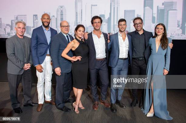 EVENTS 'Imposters Top Chef FYC Emmy Event' Pictured Brian Benden Stephen Bishop Jeff Wachtel Chief Content Officer NBCU Cable Entertainment President...