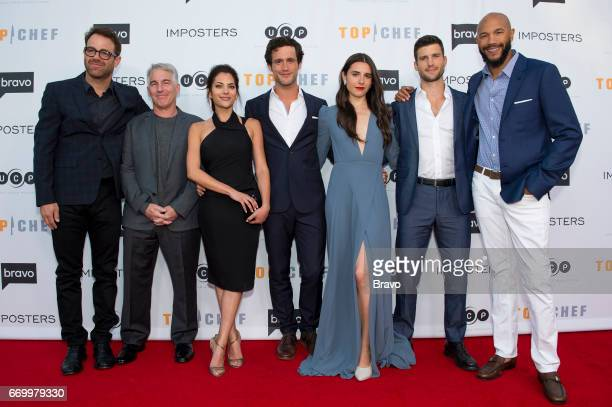 EVENTS 'Imposters Top Chef FYC Emmy Event' Pictured Paul Adelstein Brian Benben Inbar Lavi Rob Heaps Marianne Rendon Parker Young Stephen Bishop