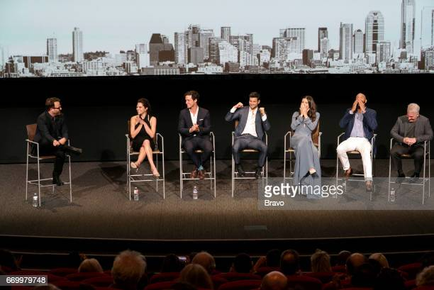 EVENTS 'Imposters Top Chef FYC Emmy Event' Pictured Paul Adelstein Inbar Lavi Rob Heaps Parker Young Marianne Rendon Stephen Bishop Brian Benben