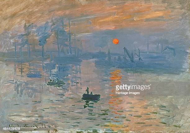Impression Sunrise 1872 Found in the collection of the Musée Marmottan Monet Paris