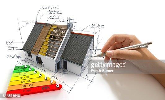 Improving energy efficiency : Stock-Foto