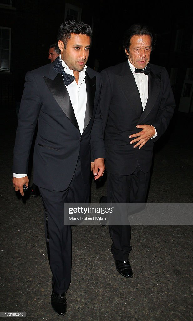 Imran Khan attending The Elephant Family Presents The Animal Ball on July 9, 2013 in London, England.