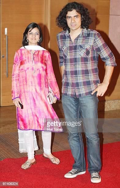 Imtiaz Ali at Big Pictures' success bash held in Mumbai on February 28 2010