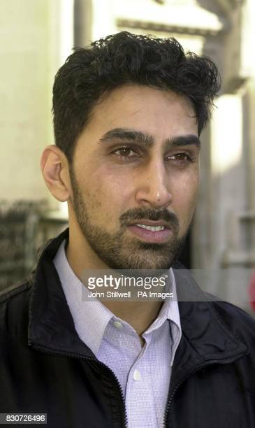 Imtiaz Amin uncle of Zahid Mubarek outside the High Court in London where he heard the detailed reasons why a judge ruled that an independent...