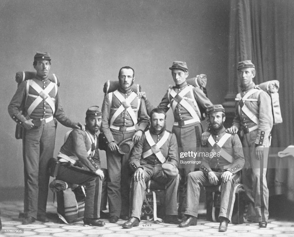 In 1861 the regiment was ordered to Washington D C and commanded by Colonel George Lyons 1863 During its many activations it served in the 1st...