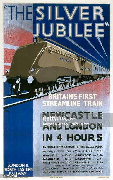 In 1935 Nigel Gresley designed the Silver Jubilee a train that became a design icon of the 1930s Its silver streamlined form streaked between London...