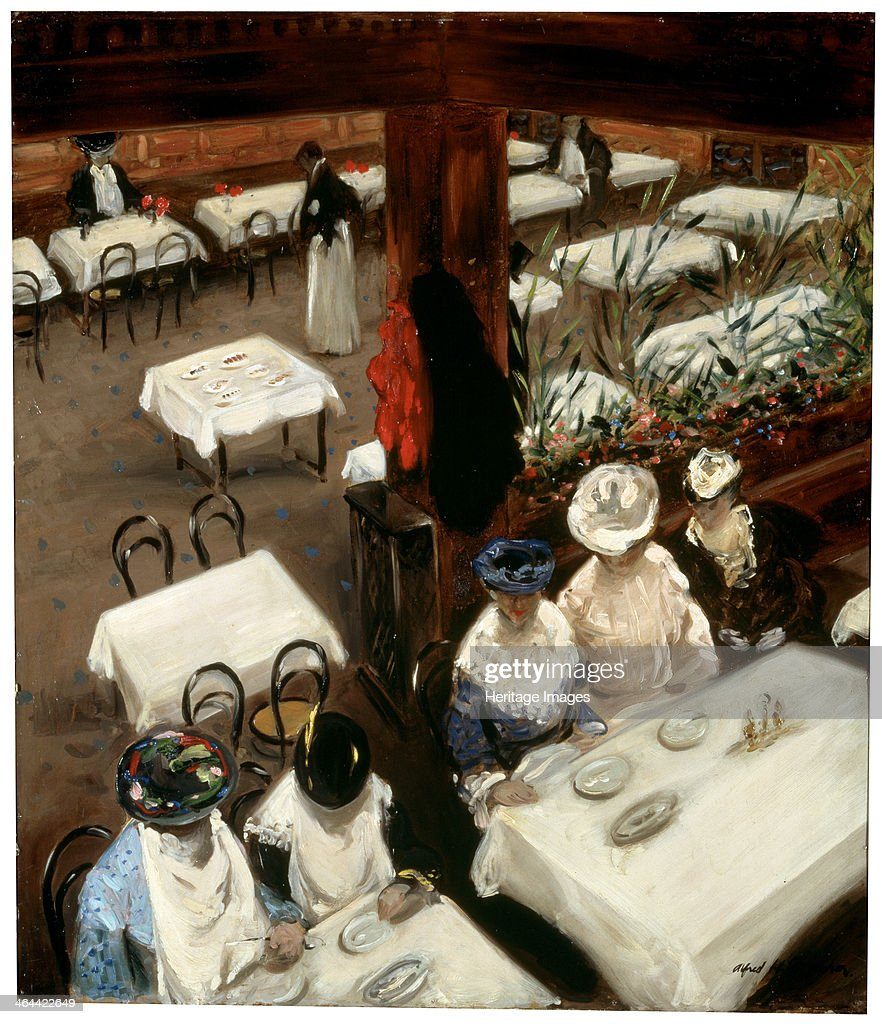 'In a Café' 1905 Found in the collection of the State Hermitage St Petersburg