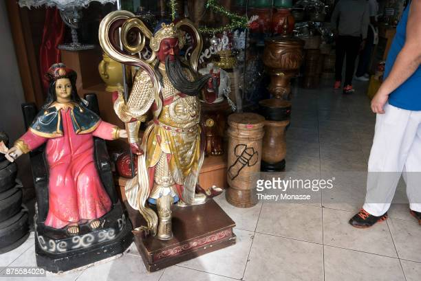 In a local shop of goods for santeria practicants we can find all kind of elements for rituals and ceremonies on January 4 2017 in CaracasVenezuela...