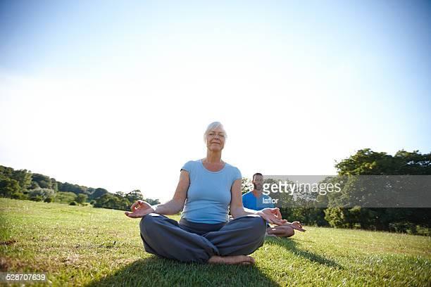 In a meditative mood