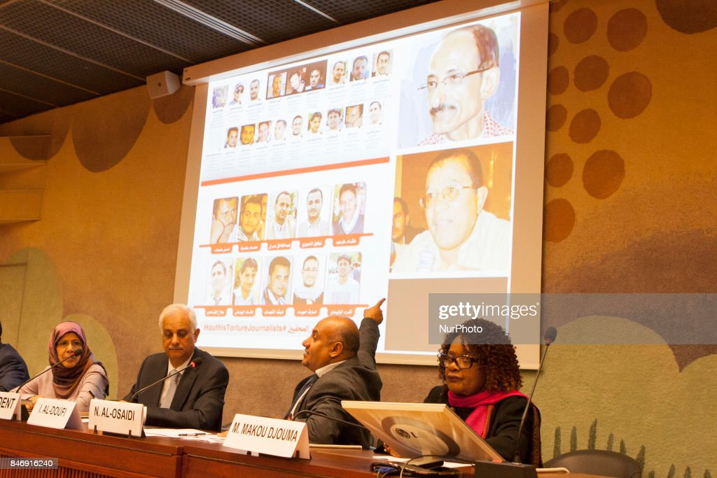 In a special report on the human rights situation presented on September 13, 2017, in Geneva, Switzerland at the 36th session of the Human Rights Council in Geneva,The Yemeni Coalition for Monitoring Human Rights Violations in Yemen called on the Human Rights Council to compel the Houthis and Saleh militias to implement the Council's resolutions on Yemen.