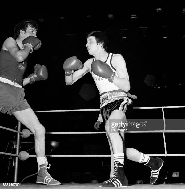 In action Charlie Magri a member of England's amateur boxing team to meet Hungary in Miskol on November 4 A member of the Arbour Youth Club in the...