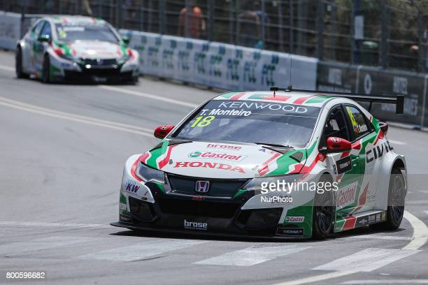 JAS in action during the Free Practice of FIA WTCC 2017 World Touring Car Championship Race of Portugal Vila Real June 24 2017