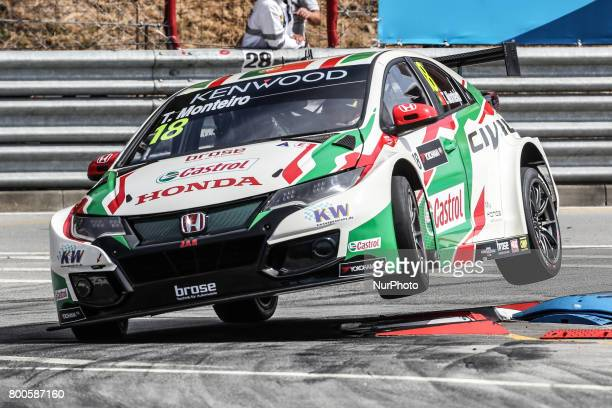 JAS in action during the Qualifying of FIA WTCC 2017 World Touring Car Championship Race of Portugal Vila Real June 24 2017