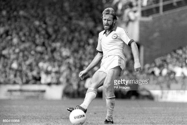 In action for Brighton Hove Albion FC is Tony Grealish The Londonborn midfielder also captains the Republic of Ireland team and joined Brighton...