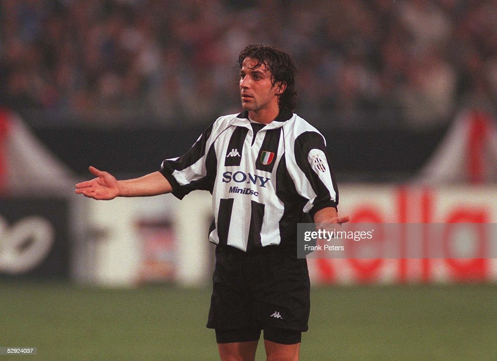 FINALE in AMSTERDAM JUVENTUS TURIN REAL MADRID 01 Alessandro DEL PIERO/JUVENTUS TURIN