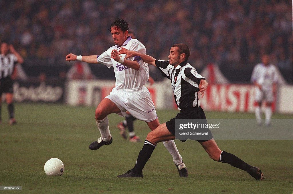 FINALE in AMSTERDAM JUVENTUS TURIN REAL MADRID 01 Predrag MIJATOVIC/REAL MADRID Paolo MONTERO/TURIN