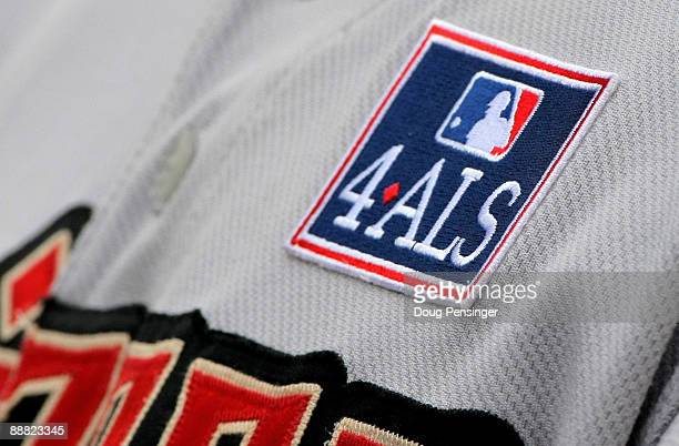In an effort to raise awareness and financial support for the fight against ALS also known as 'Lou Gehrig's Disease' players wore patches on their...