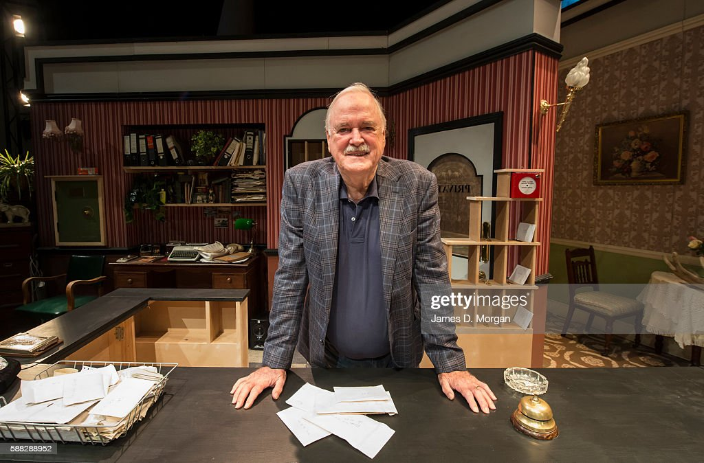John Cleese Joins Rehearsal Room For 'Fawlty Towers Live'
