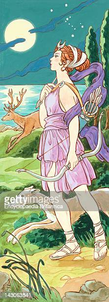 In Ancient Greek Mythology Artemis Was The Goddess Of Hunting And Wild Animals The Ancient Romans Called Her Diana