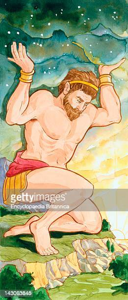 In Ancient Greek Mythology Atlas Was Doomed To Carry The World On His Shoulders As A Result Of His Part In A War Against Zeus