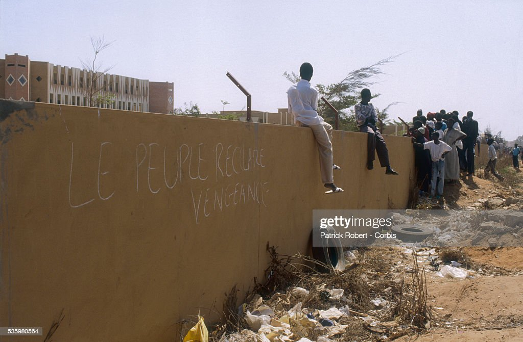 In April 1989, a minor incident on the Senegal-Mauritania border led to violent xenophobic riots in both countries, including looting, an imposed curfew, and a state of emergency declared in the Senegalese capital city of Dakar. Both countries deported thousands of the other's citizens, killing hundreds in the process, the border was closed, and diplomatic relations were broken off for a year until April 1992.