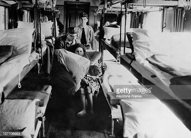In Austria The Former Saloon Of Marshal Goering Has Been Transformed To Take The Seriously Ill During Pilgrimages To Lourdes On September 22Nd 1963