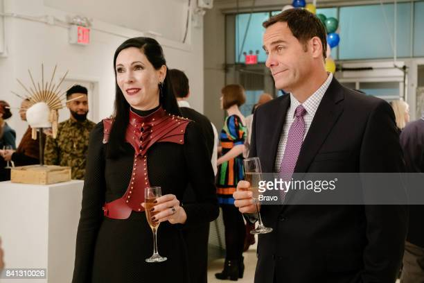 OUT 'MFA in BS' Episode 303 Pictured Jill Kargman as Jill Andy Buckley as Andy