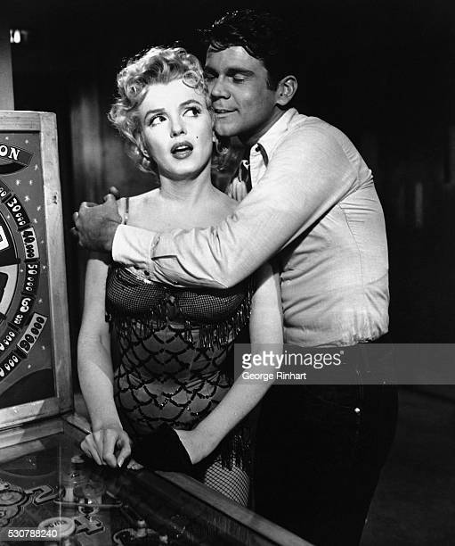 In 'Bus Stop' the young cowboy who has never had 'anything to do with girls' finds his dream girl 'an angel' played by Marilyn Monroe who isn't...