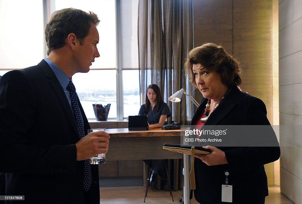 'In Case Of All Hell Breaking Loose' -- Michael (Patrick Wilson) runs double duty trying to save a personal friend he recently diagnosed with a brain tumor while pregnant, and a little boy with Sickle Cell, with help from his assistant Rita (Margo Martindale), on A GIFTED MAN, Fridays, (8:00-9:00 PM, ET/PT) on the CBS Television Network.