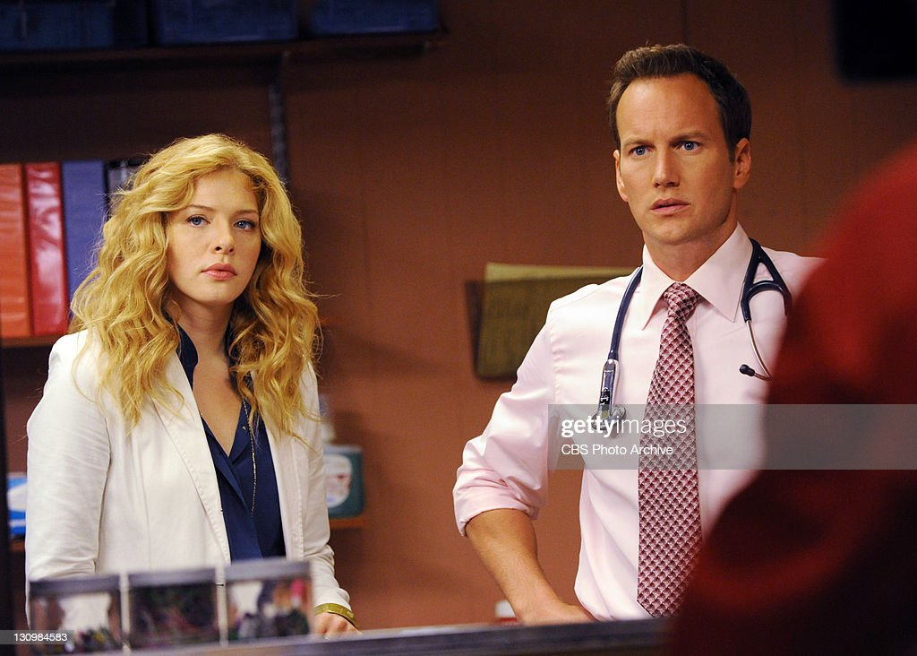 'In Case of Exposure' -- Michael (Patrick Wilson) and Kate (Rachelle Lefevre) discuss a moral dilemma, on A GIFTED MAN, Friday, Nov 11, 2011 (8:00-9:00 PM, ET/PT) on the CBS Television Network