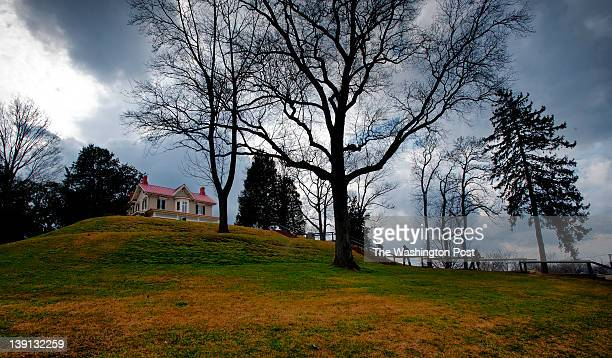In celebration of the 194th birthday of Frederick Douglass the park service holds events at his house on February 2012 in Washington DC Pictured the...