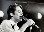 In concert at Massey Hall last night Robert Palmer had his moments according to Star rock critic Peter Godard [Incomplete]