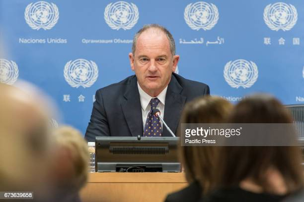 In conjunction with his two days of meetings with United Nation Security Council David Shearer Special Representative of the UN SecretaryGeneral and...
