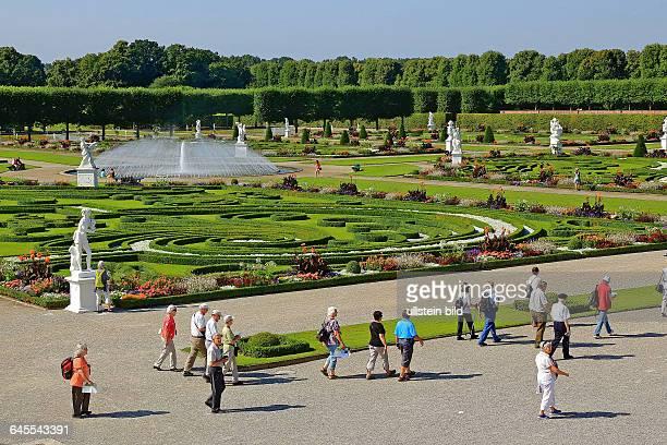 In den Herrenhäuser Gärten in Hannover