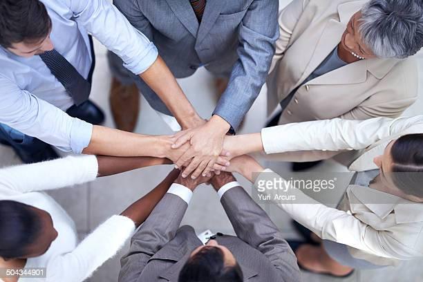 Durch Vielfalt Wir erfolgreich