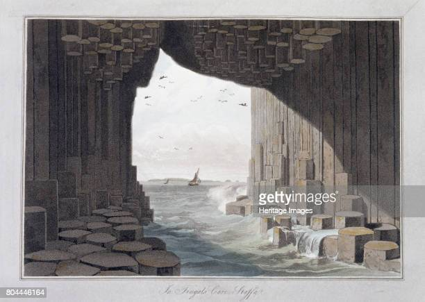 In Fingal's Cave Staffa Scotland 1829 The best known of the caves on the southwest coast of Staffa Scottish Inner Hebrides Fingal's Cave was the...