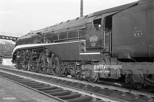 In France in 50 years SNCF began the electrification of its railway network A steam locomotive type 'Baltic' 232 S