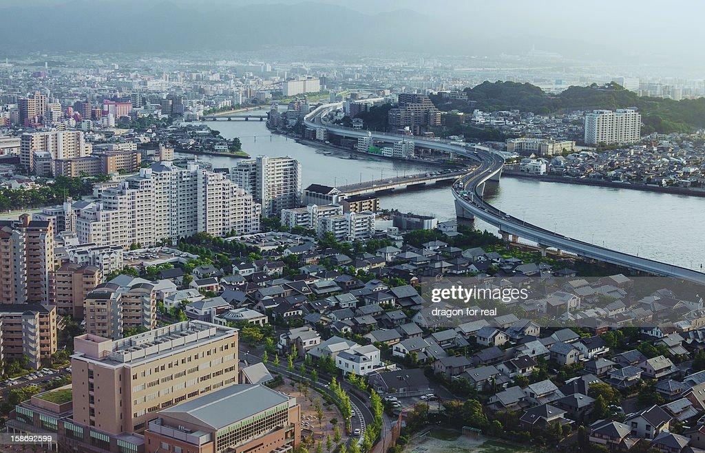 In Fukuoka City : Stock Photo