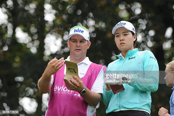 In Gee Chun of Republic of Korea during the day one of Women Evian Masters 2016 on September 15 2016 in EvianlesBains France