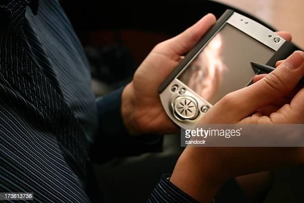 PDA em mão