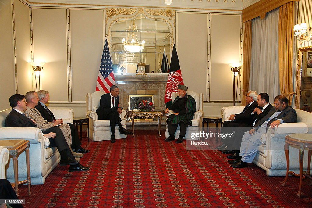 us president office. in handout image released by the afghan presidents office us president barack obama cl us m
