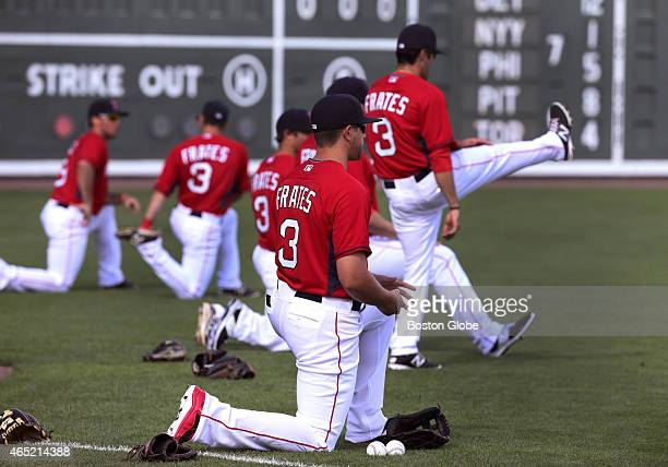 In honor of Peter Frates the former Boston College baseball player who was stricken by ALS and who started the Ice Bucket Challenge to promote...