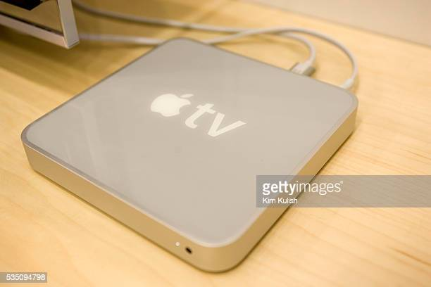 In January 2007 CEO Steve Jobs introduced the new Apple TV device which is now shipping to stores