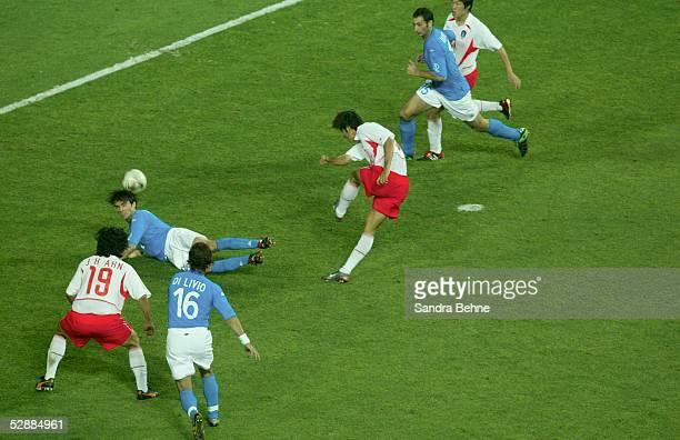 WM 2002 in JAPAN und KOREA Daejeon Match 56/ACHTELFINALE/KOREA ITALIEN 21 nV TOR zum 11 durch Ki Hyeon SEOL/KOR