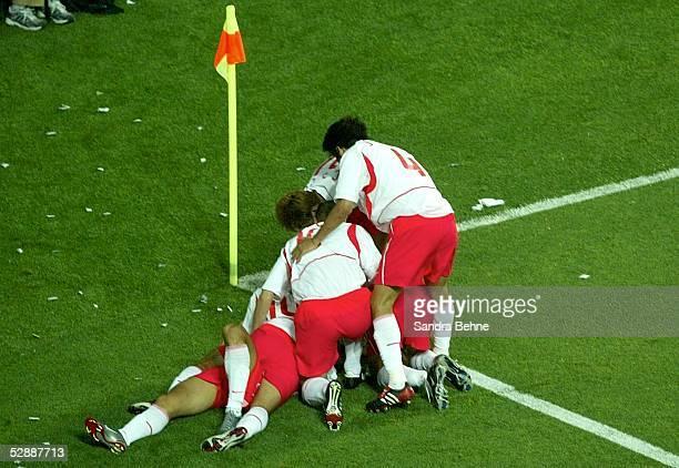 WM 2002 in JAPAN und KOREA Daejeon Match 56/ACHTELFINALE/KOREA ITALIEN 21 nV JUBEL KOR nach TOR zum 11