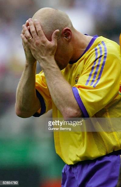 WM 2002 in JAPAN und KOREA Oita MATCH 51/ACHTELFINALE/SCHWEDEN SENEGAL 12 nV Golden Goal Hendrik LARSSON/SWE