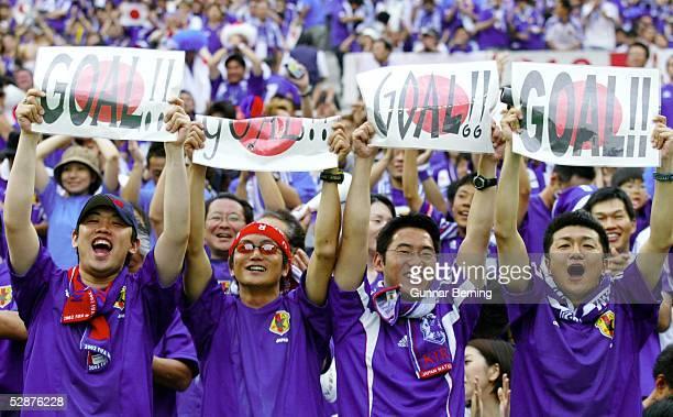 WM 2002 in JAPAN und KOREA Saitama GRUPPE H/JAPAN BELGIEN 22 FANS JAPAN