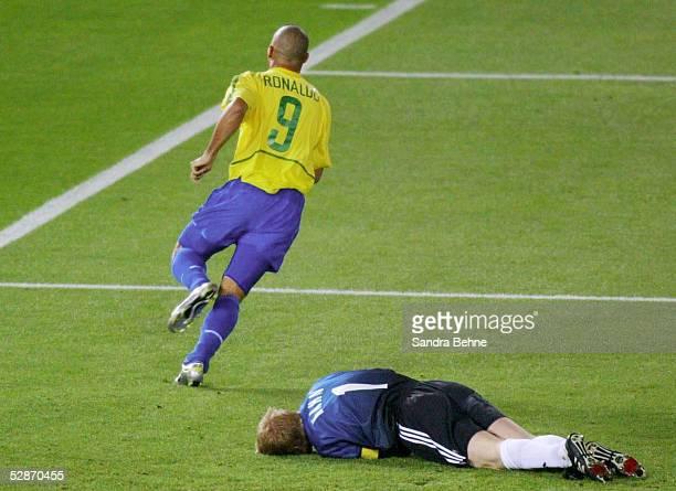 WM 2002 in JAPAN und KOREA Yokohama Match 64/FINALE/DEUTSCHLAND BRASILIEN 02 BRASILIEN WELTMEISTER 2002 TOR zum 02 durch RONALDO/BRA TORWART Oliver...